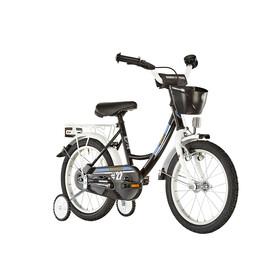 "Vermont City Police - Bicicletas para niños - 12"" blanco/negro"